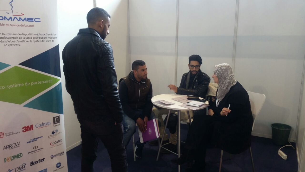 Participation au Job Fair d'Al Akhawayn UniversityI
